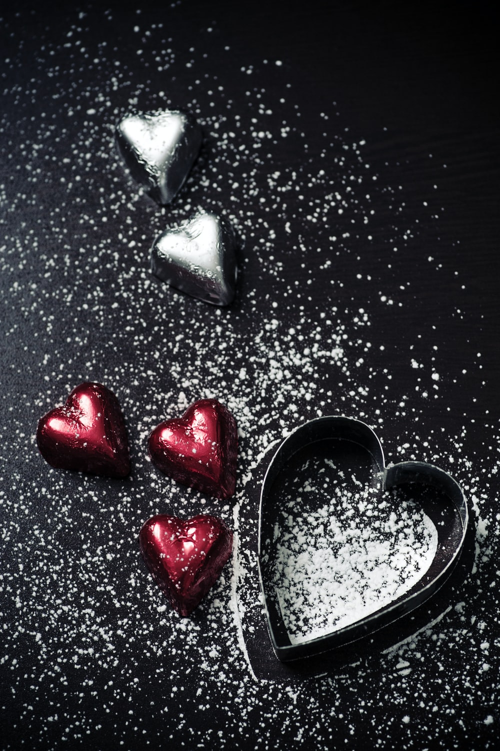 Chocolate hearts and sugar hd photo by jasmine waheed