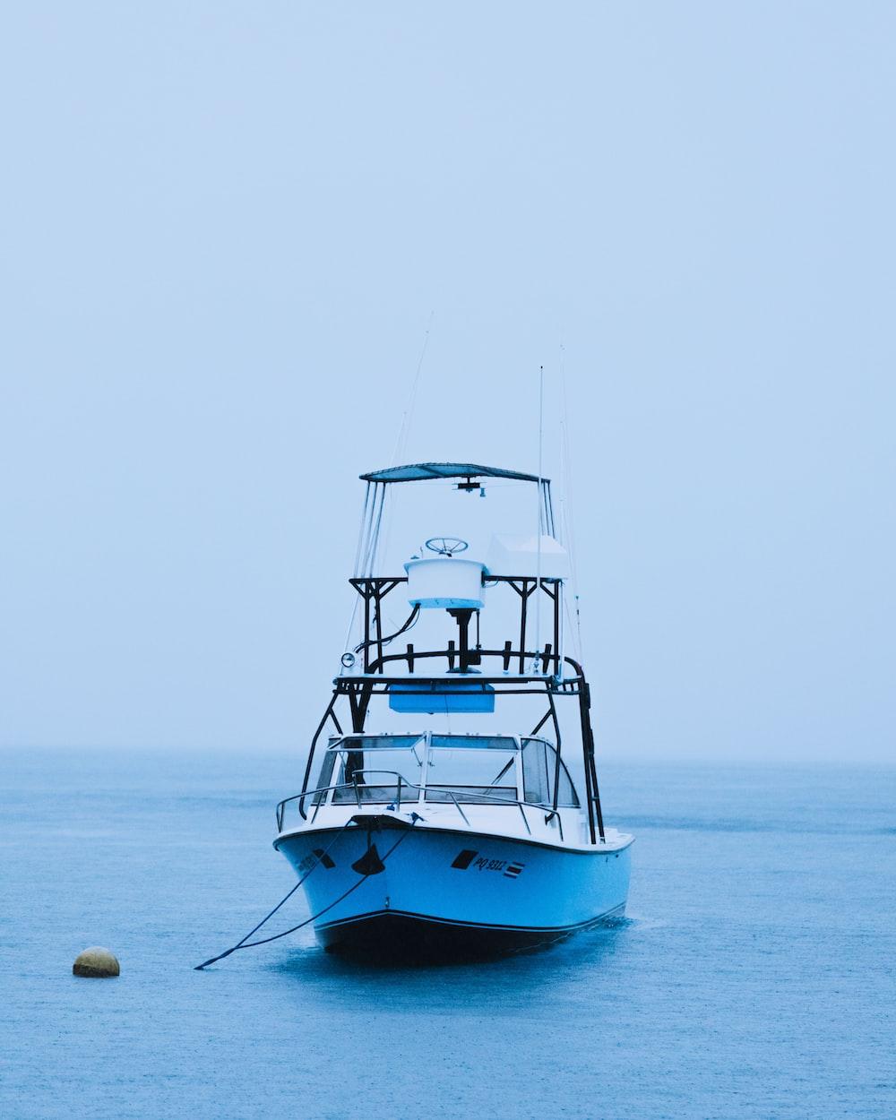 photo of white boat