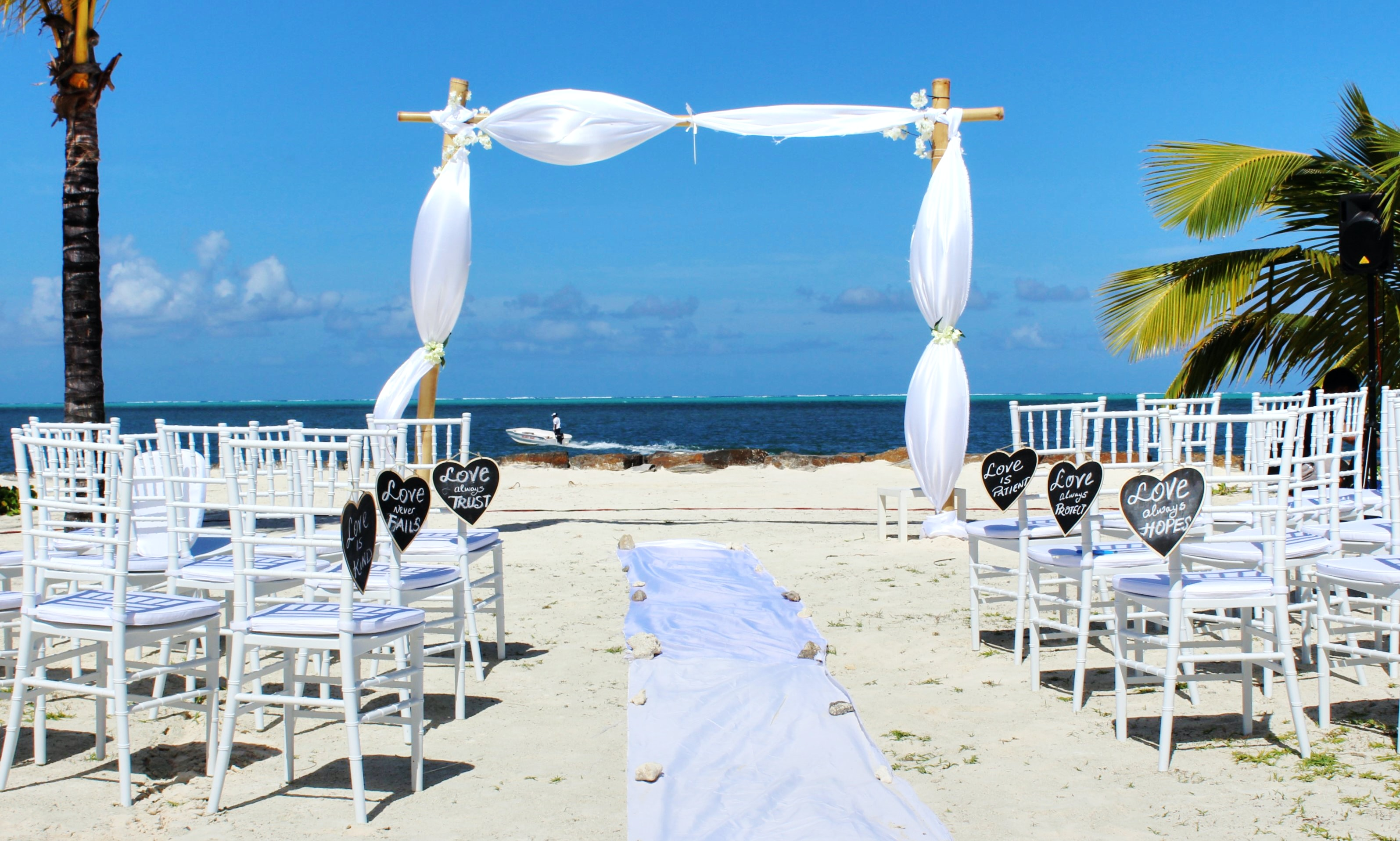 wedding venue in beach