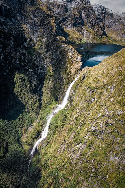 Sutherland Falls Fiordland National Park New Zealand