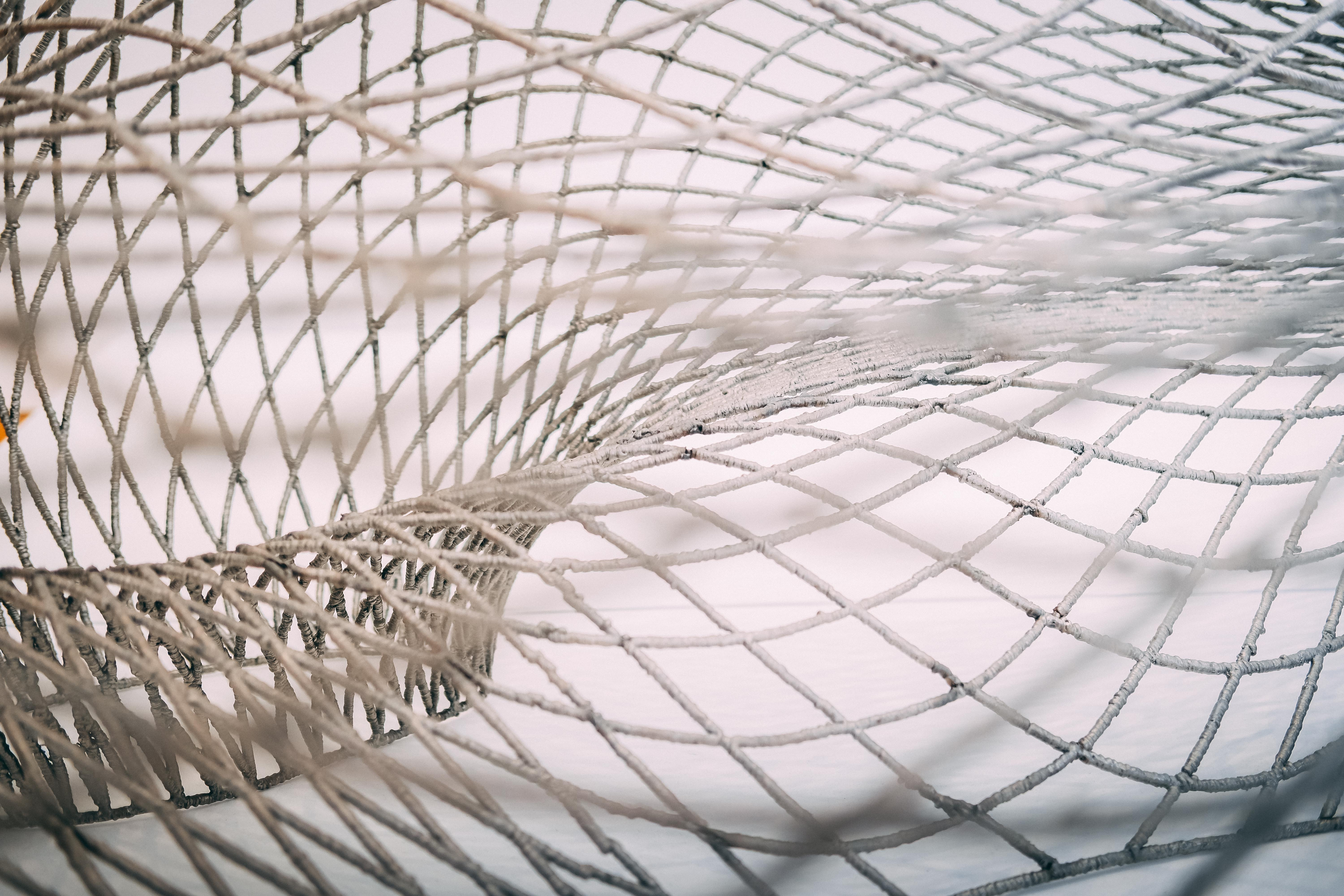 photo of gray net