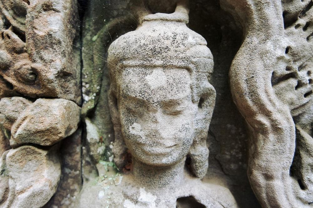 statue of Hindu god