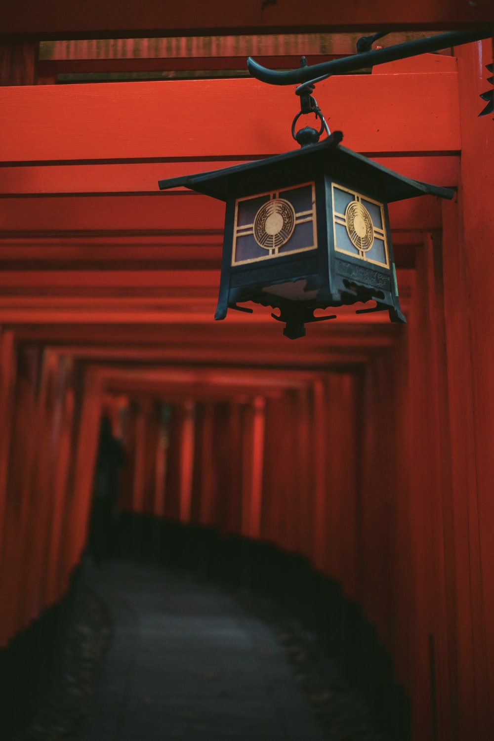 shallow focus photography of lantern