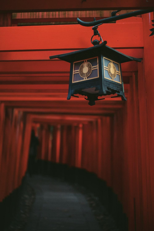 shallow focus photography of lantern