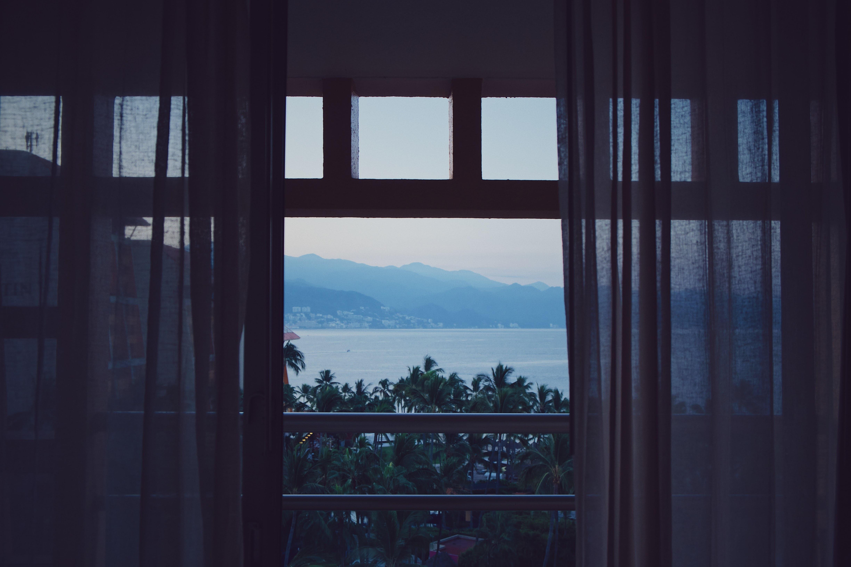 balcony near body of water
