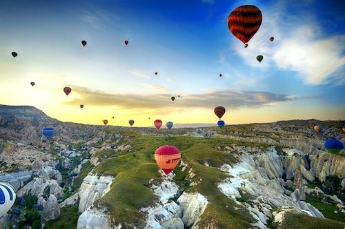 Hot air balloon in Turkey
