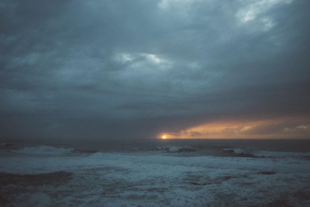 photo of landscape during golden hour
