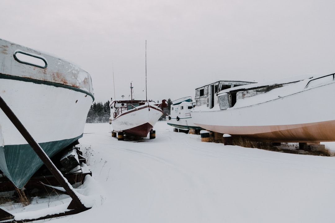 My husband and I were exploring the desolate land of the North West Territories in Canada when we discovered a bunch of abandoned ships. They felt out of place in the -40C wasteland. It was pretty awesome, despite getting frostbite while taking photos. Worth it!