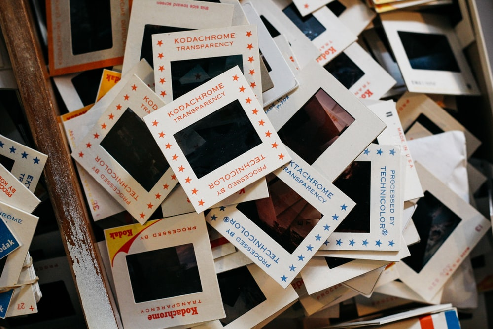 Kodacrome tranparency pack lot