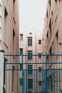 beige high-rise buildings