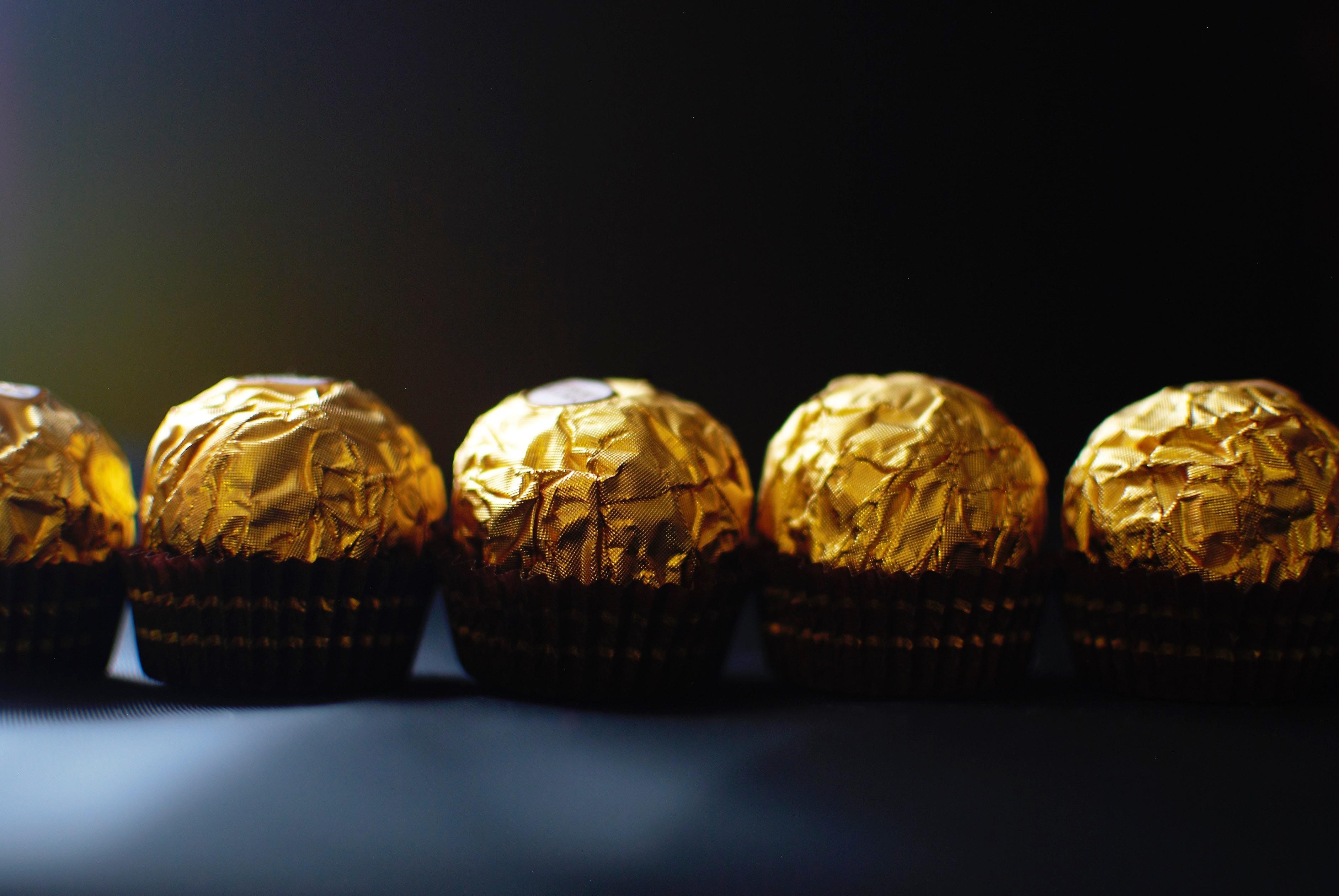 five chocolate wraps
