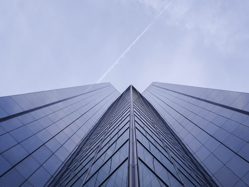 worm's eye view photo of high-rise building