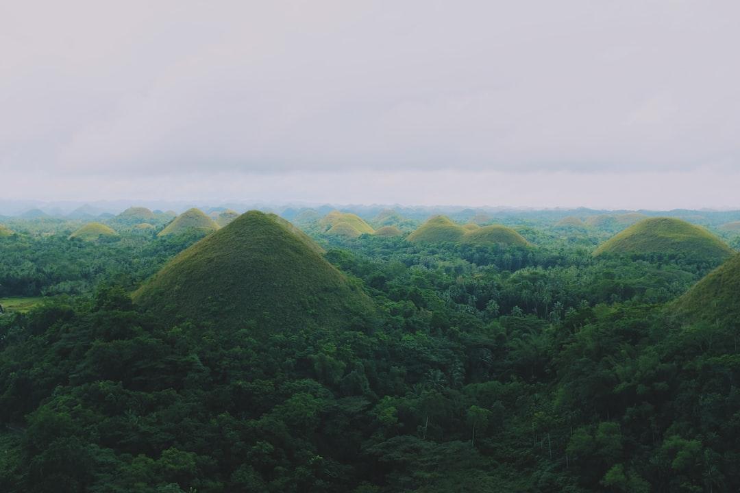 Chocolate Hill in Bohol