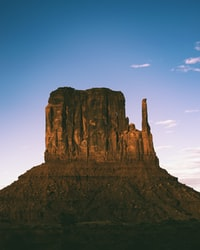 rock formation on Monument Valley