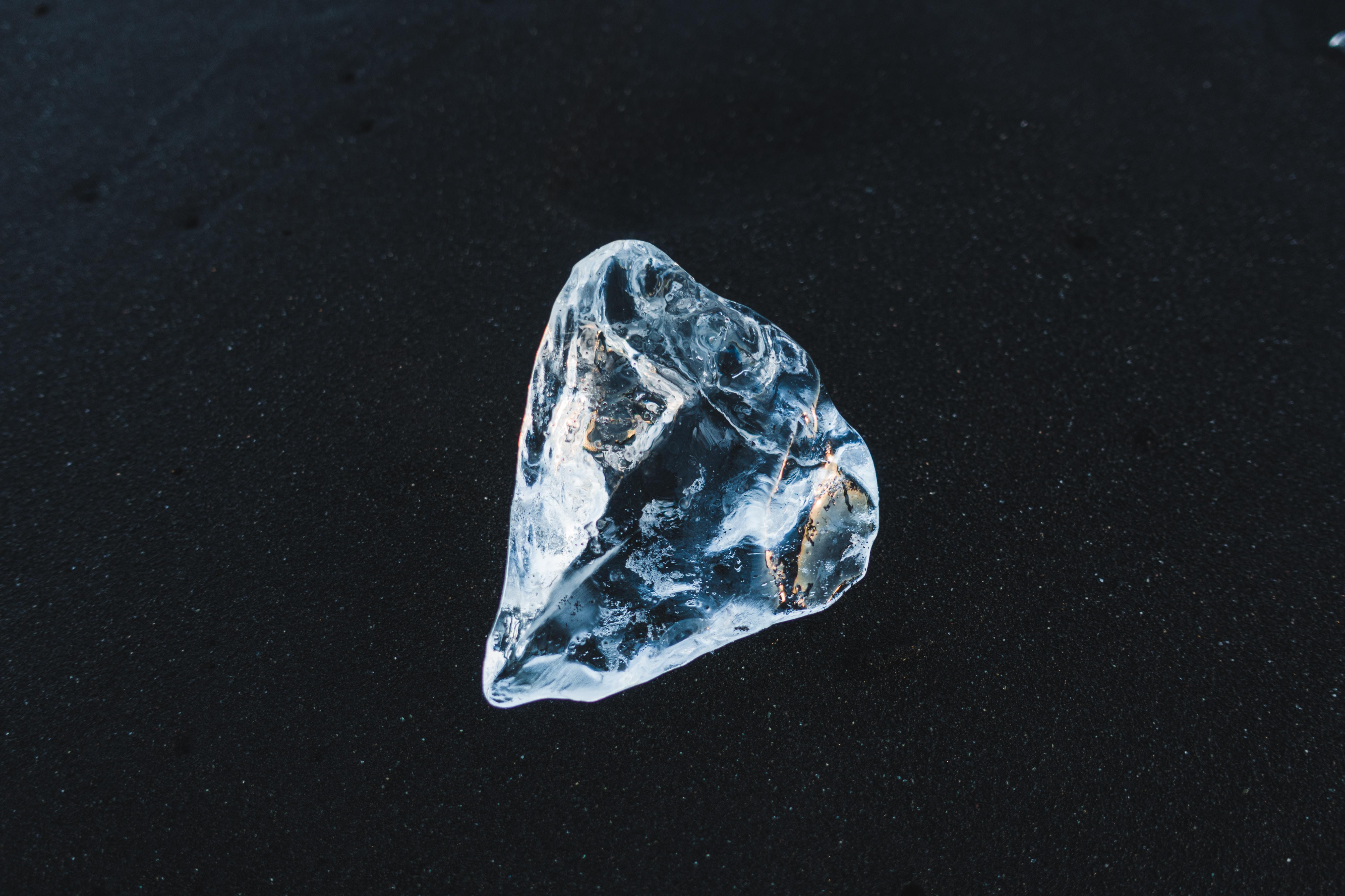 blue rock fragment