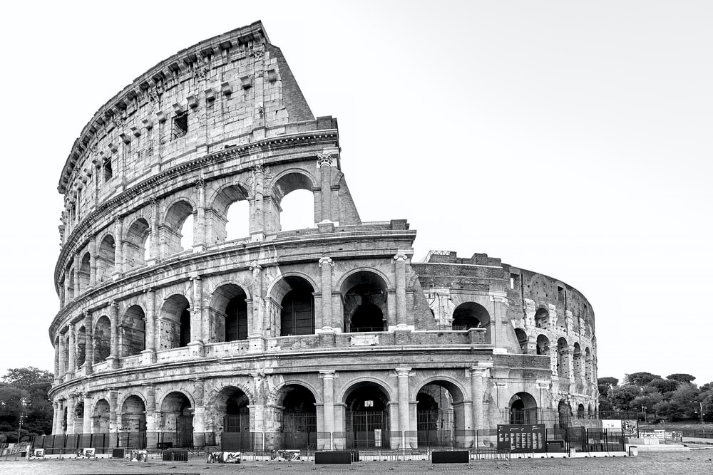 Colosseum, Rome during day photo – Free Black-and-white Image on ...