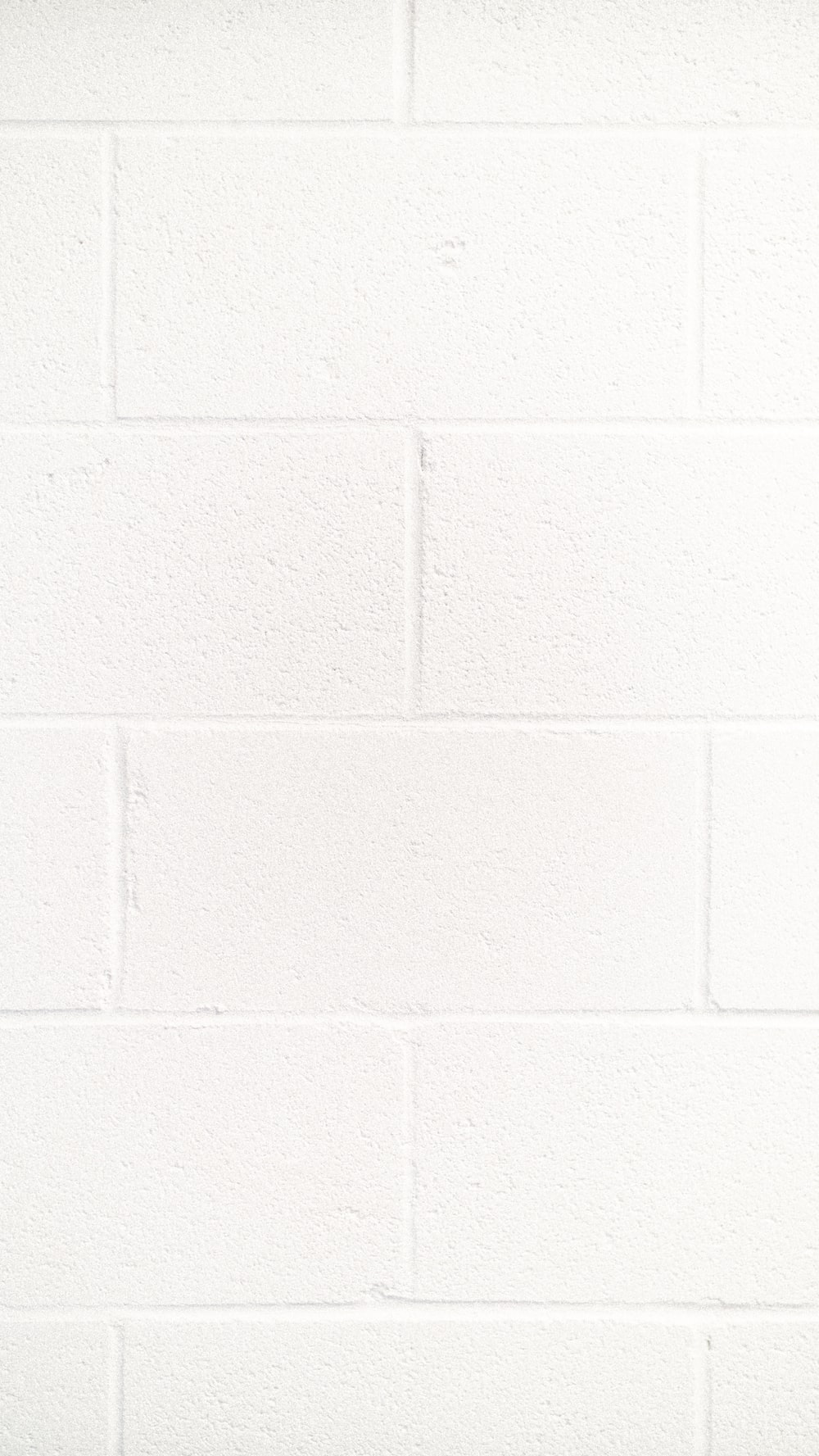 white brick wall planning