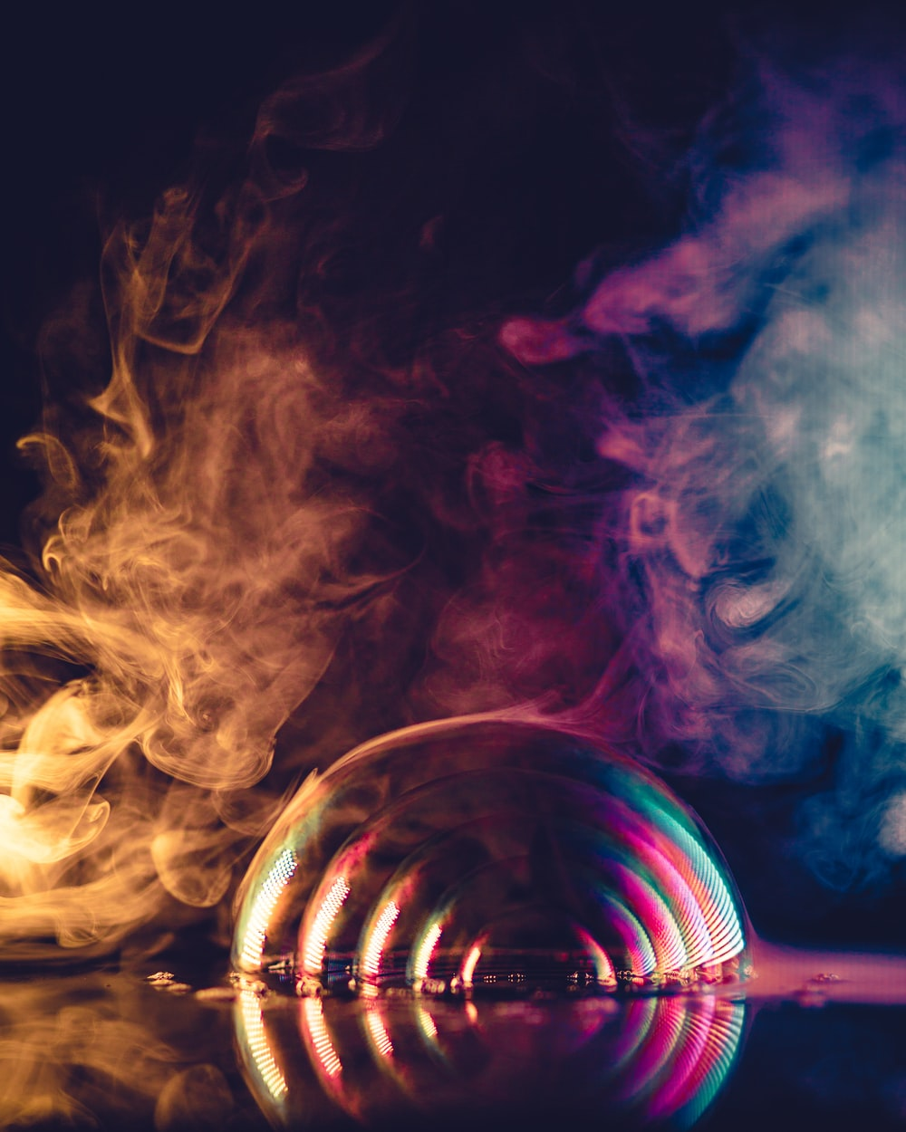 smoke illusion photography