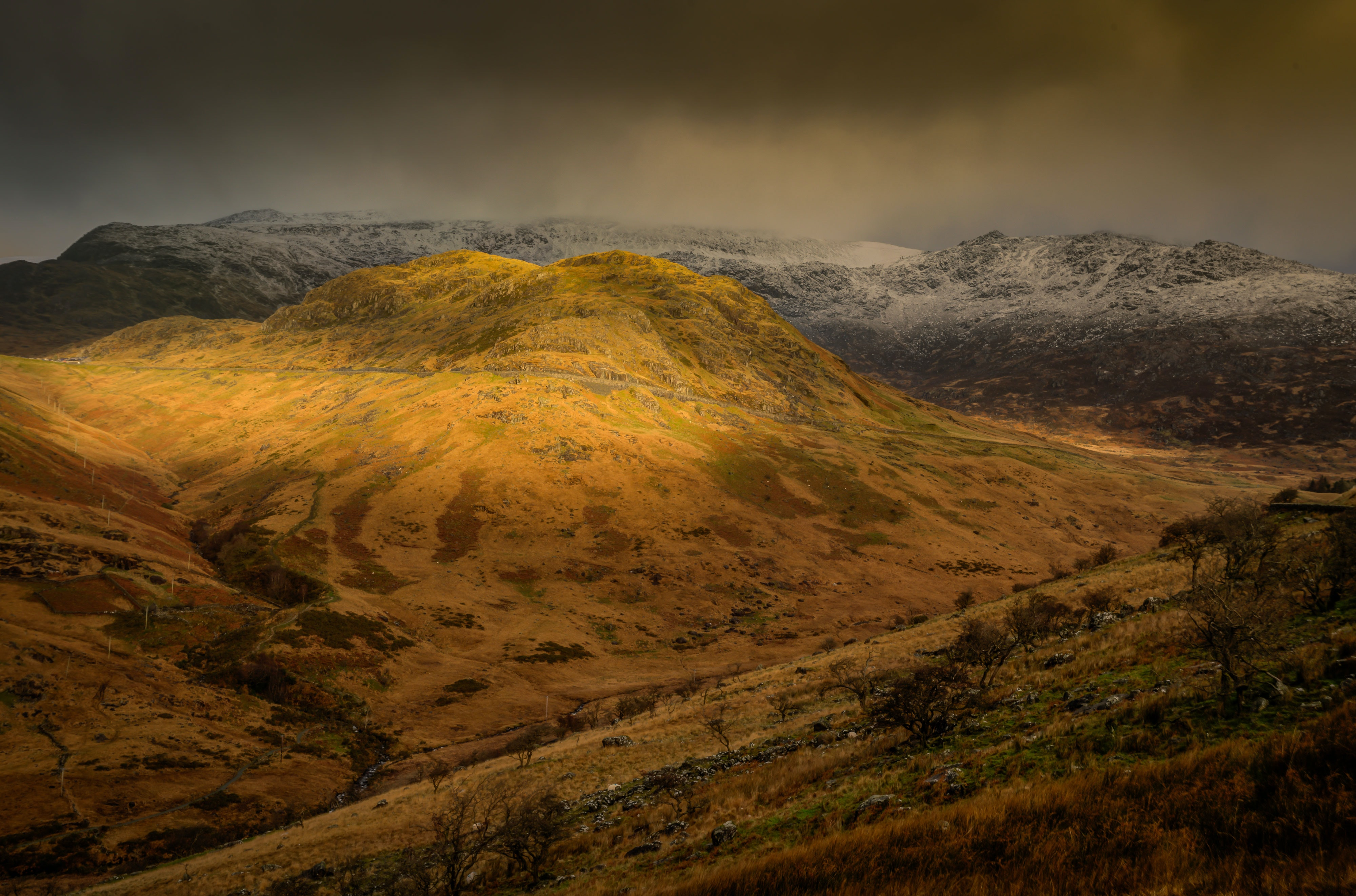 brown mountain cliff landscape photography
