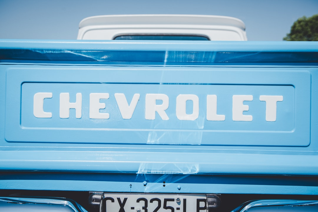 Back of a Chevrolet