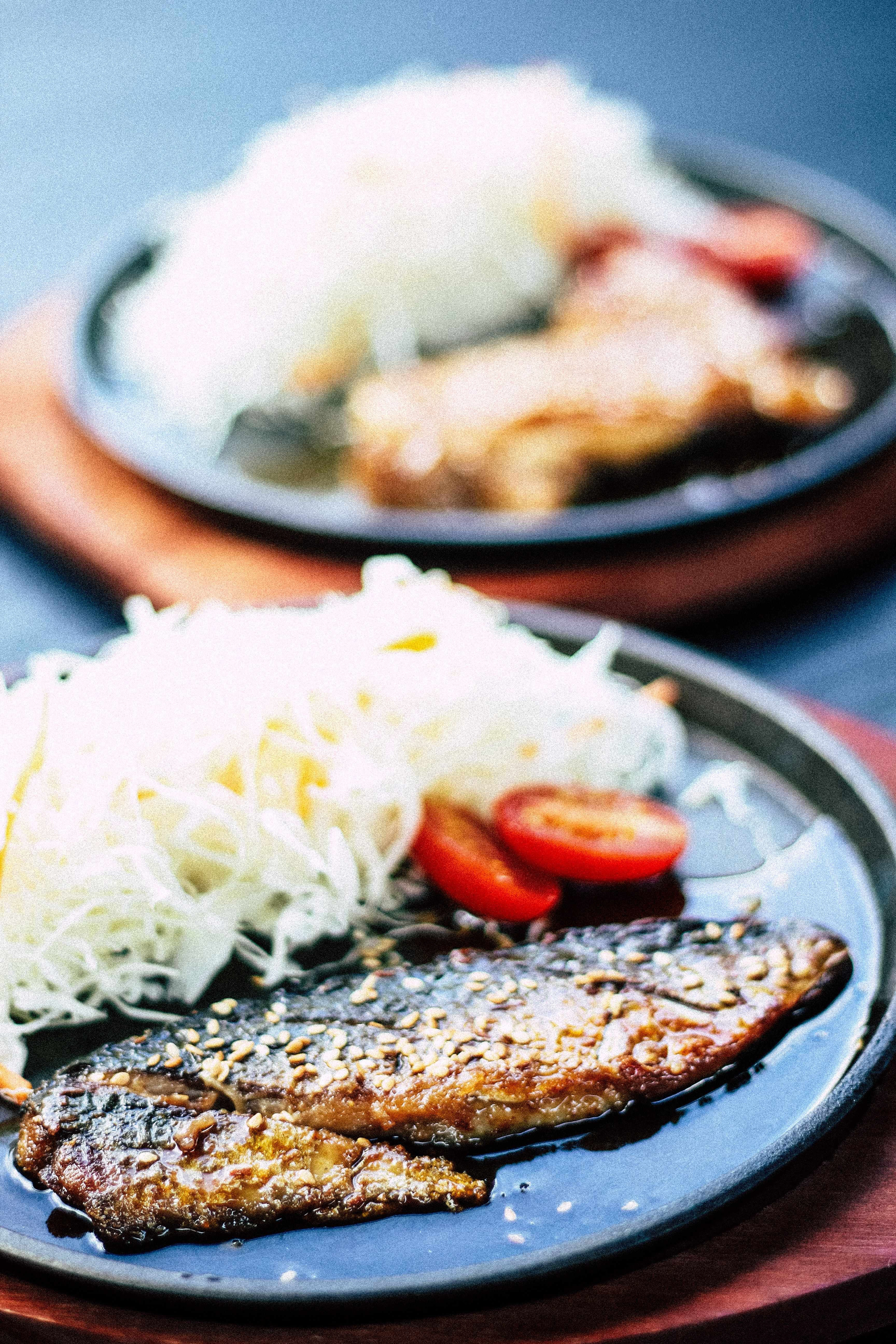 fried fish with tomato