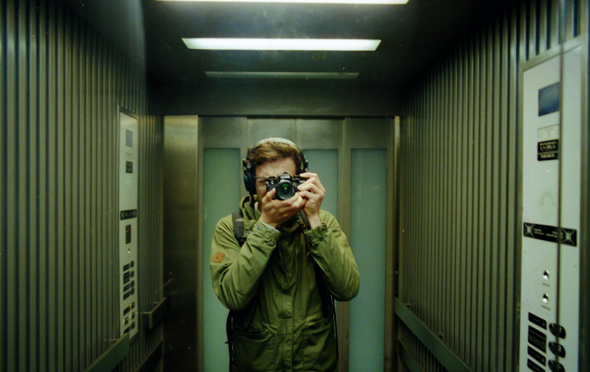 Why are there mirrors in elevators?