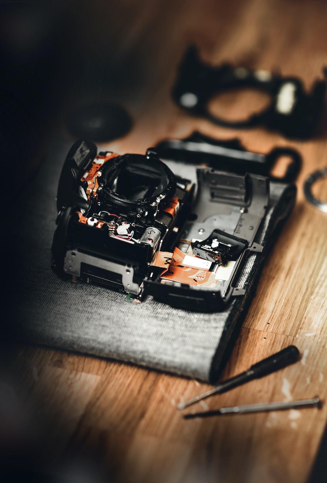 Peter Mckinnon inspired camera repair photo