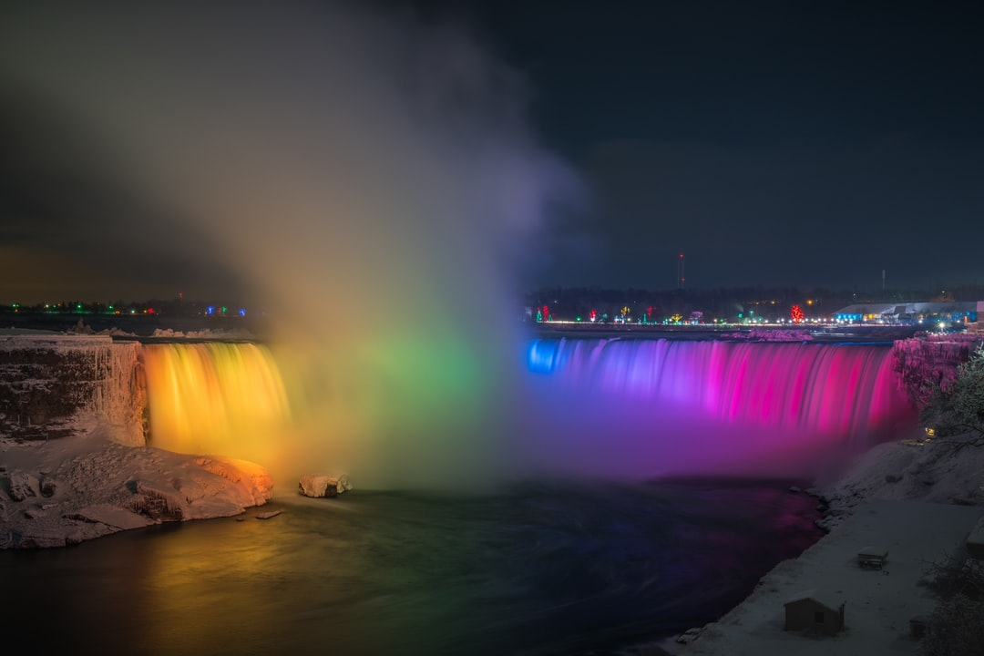I was at Niagara Falls a few weeks ago. It was my first time and it did not disappoint. They have this giant billboard on the side of the road with these super bright lights that change the color of the falls. It was such a sight to see and I would definitely recommend going there if you have not gone. I'm on IG @bryangoffphoto Stop by and say hi!