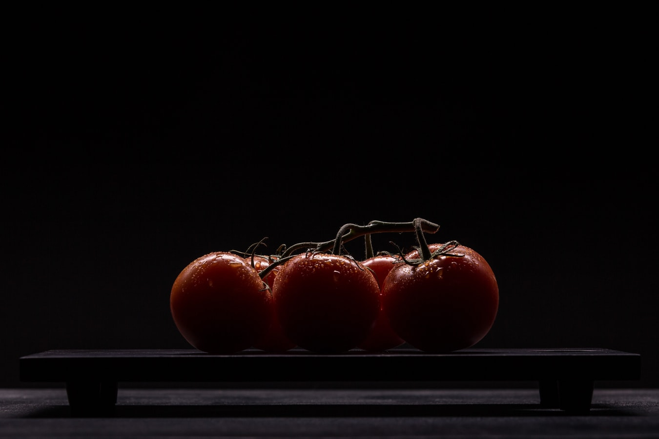 Suspicious-looking tomatoes