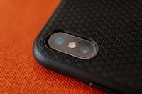 black smartphone case