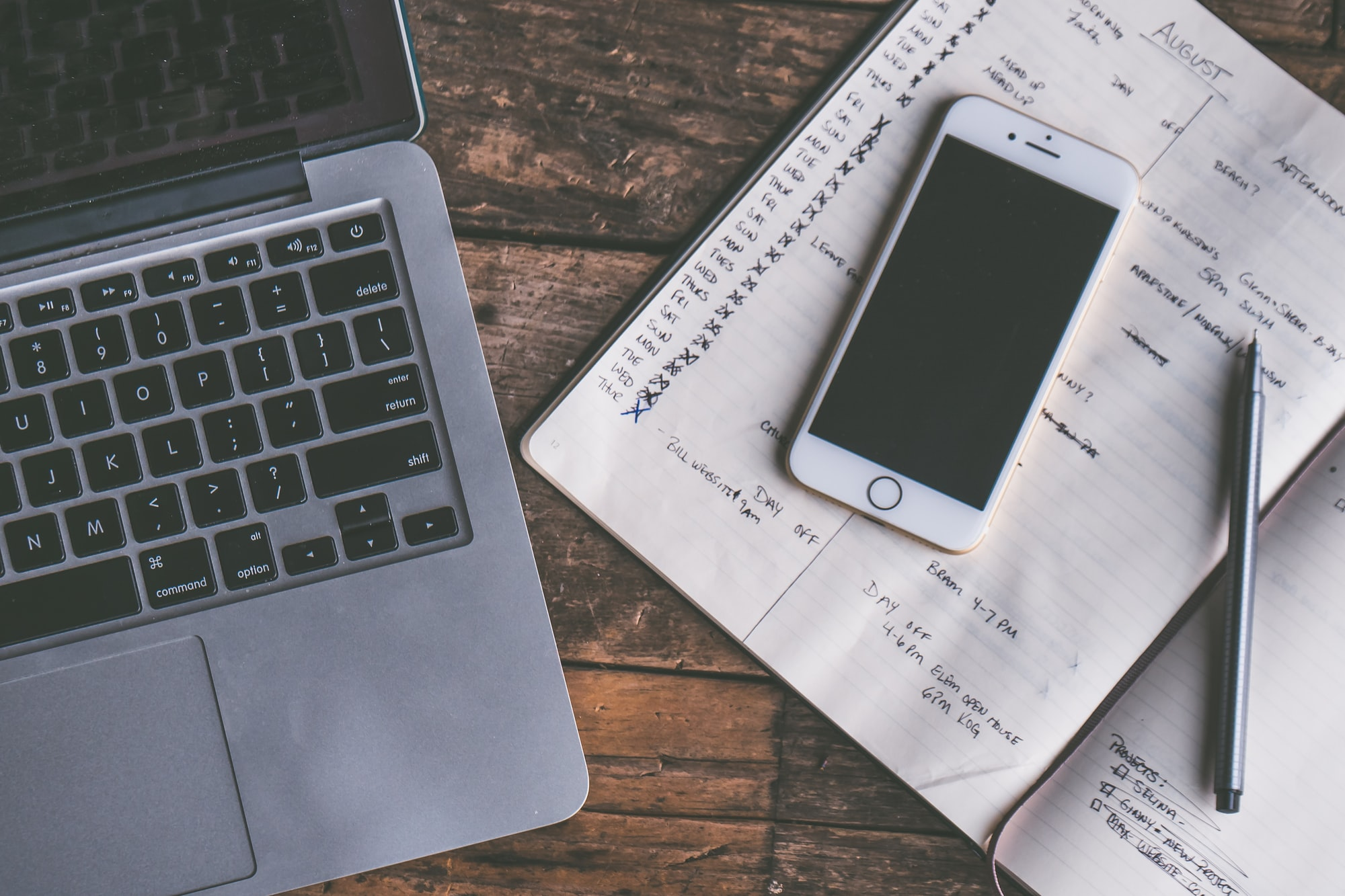 How scheduling and taking notes can save you from yourself