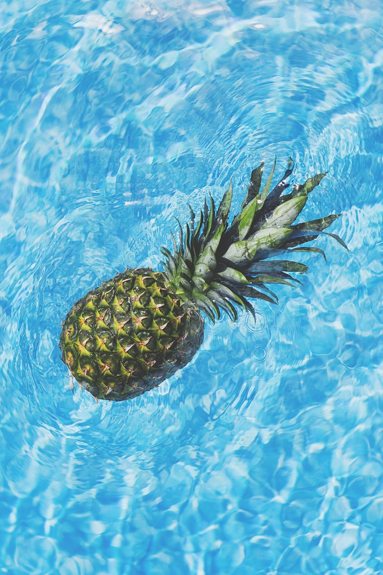 Pineapples In The Pool Photo By Pineapple Supply Co