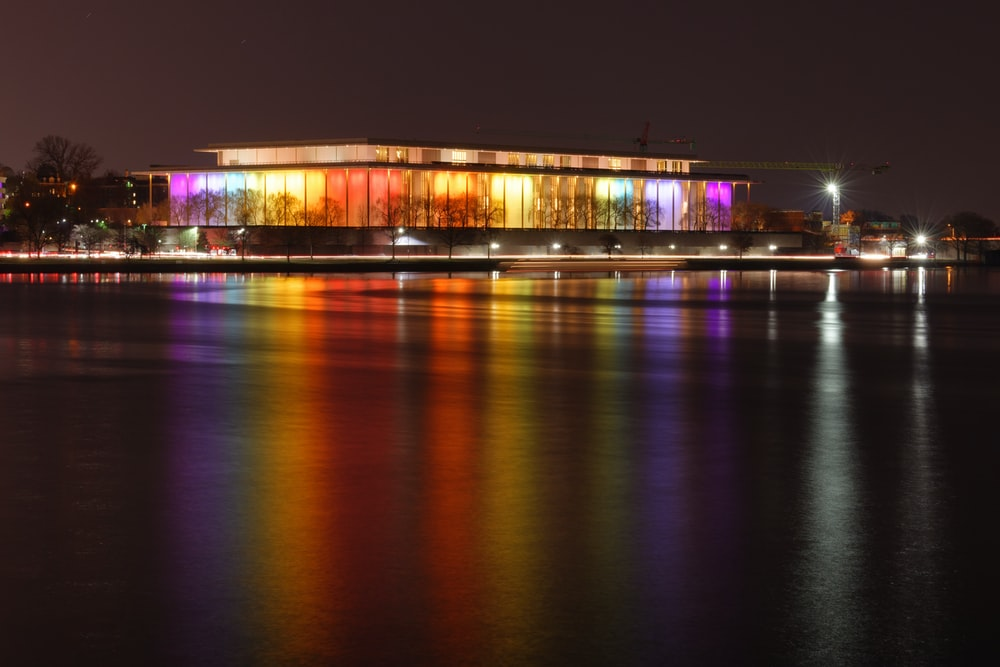 panoramic photography of multicolored lights