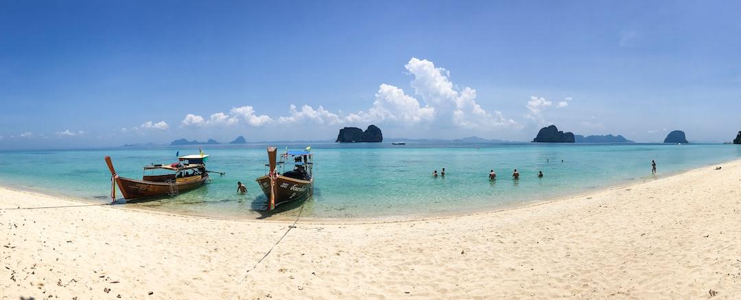 Sunny beach in Ko Lanta, Thailand