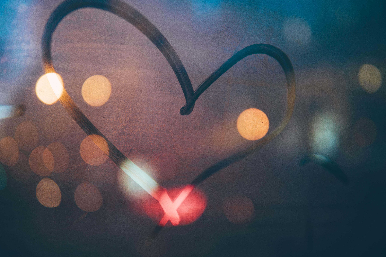 heart marker print