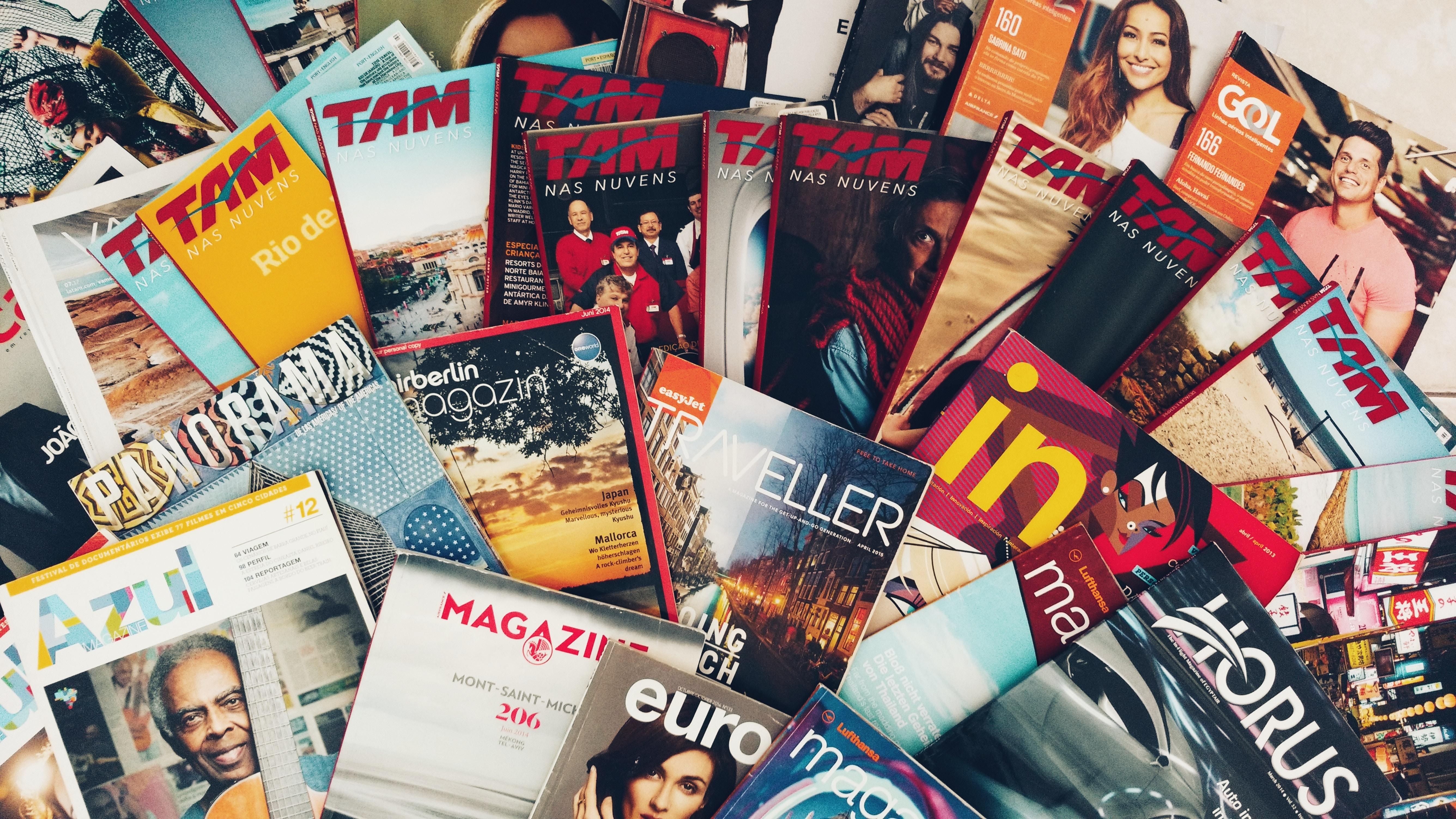 magazine lot
