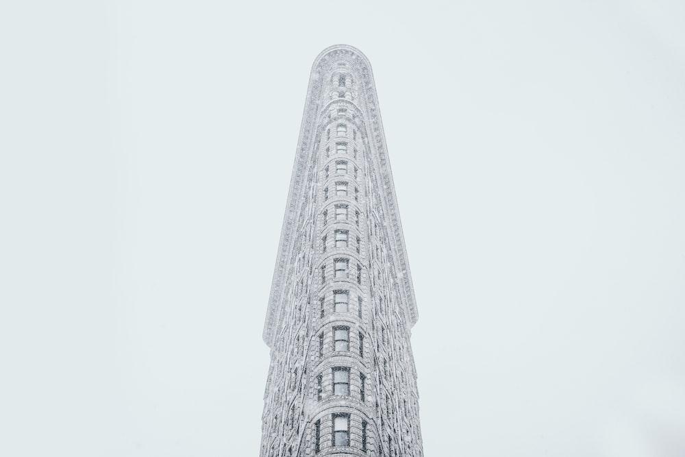worm's eye view photo of Flatiron Building