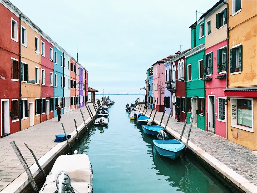 Beautiful town of Murano in Italy, by far my favorite part of my trip to Venice. The colors of the homes are so vibrant and reflect the character of the city and the people.