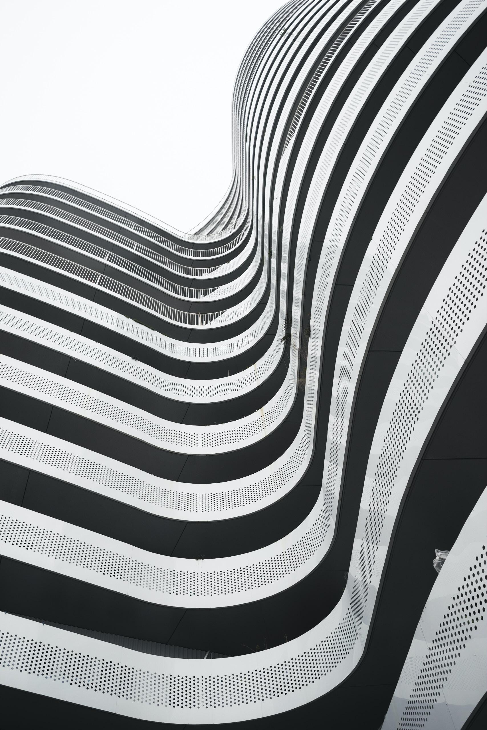 low angle photo of gray bilding