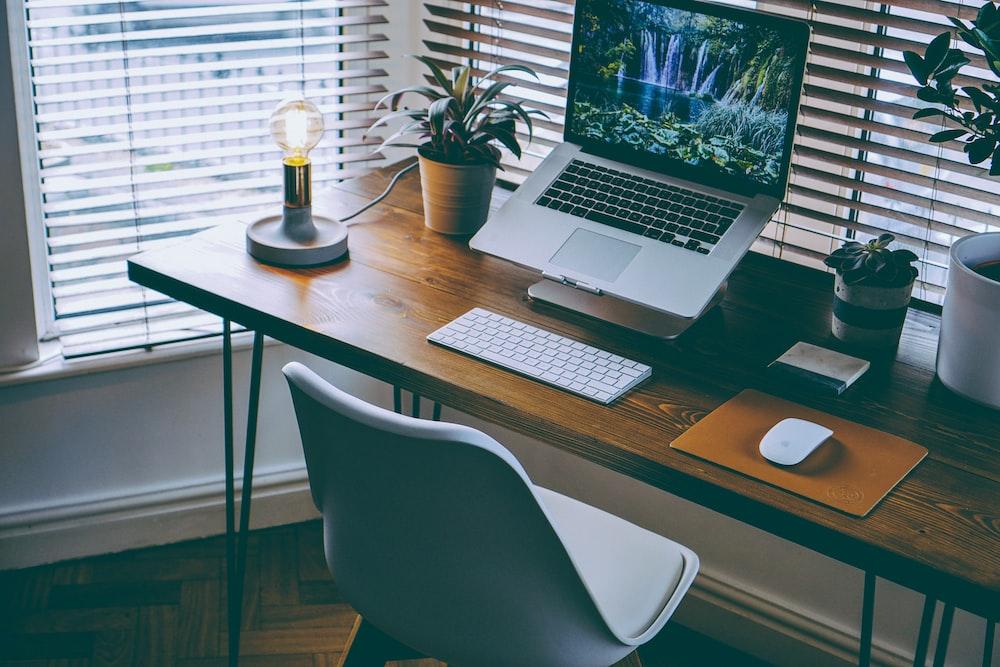MacBook Pro on table