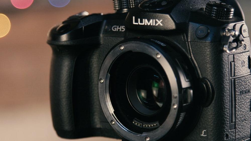 black Lumix GHS body camera