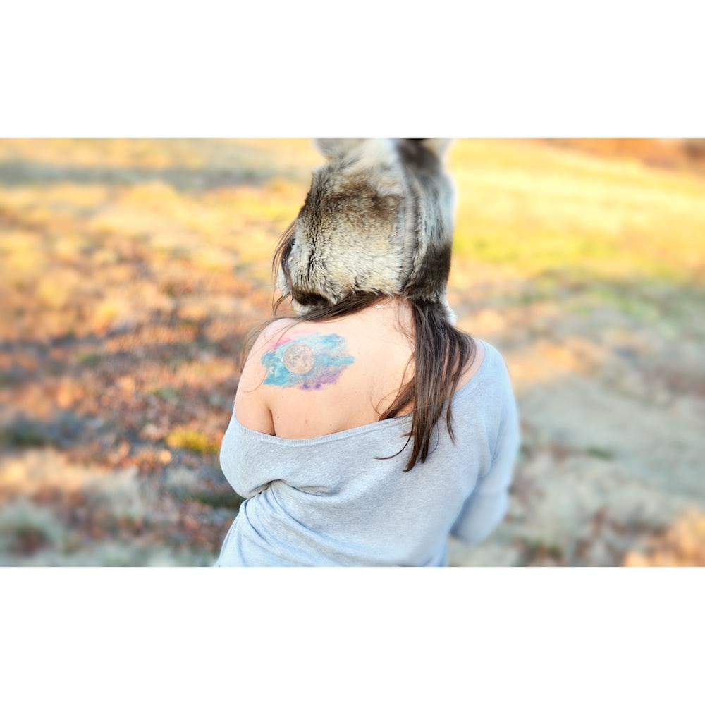 woman donkey head photoshop