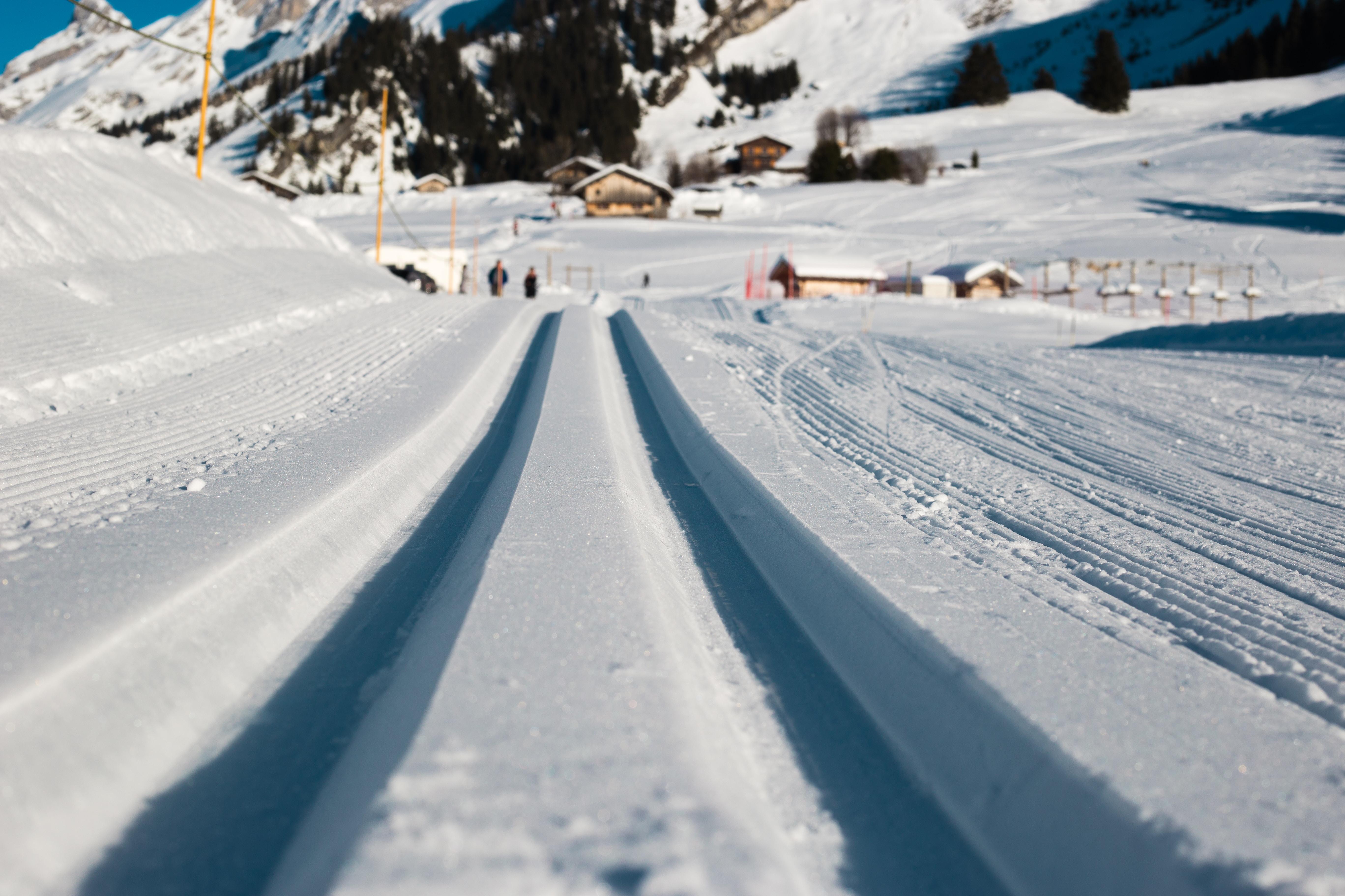 low angle photo of snow