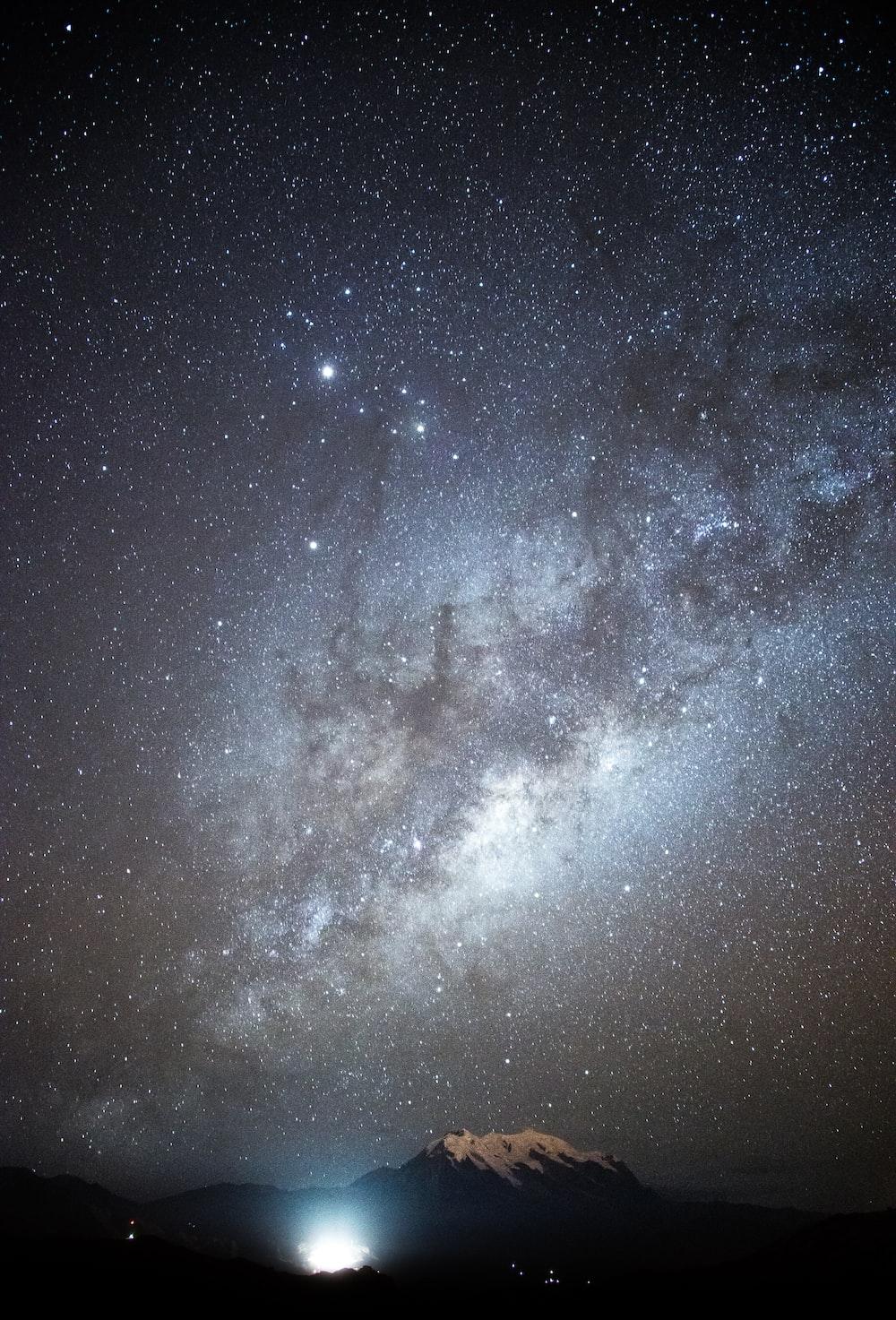 stardust on sky