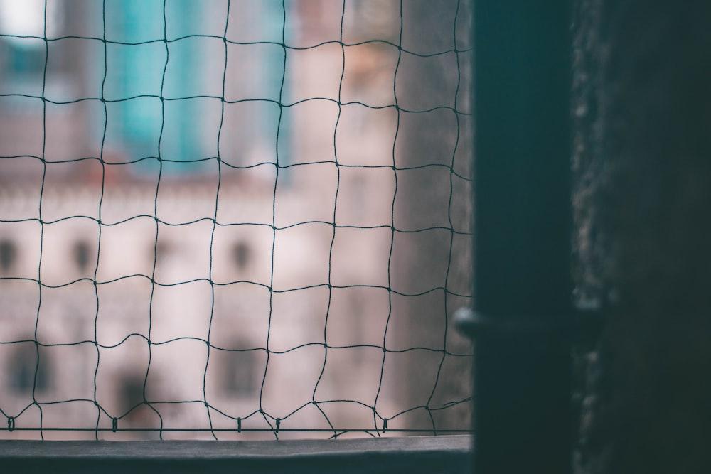 mesh net door close