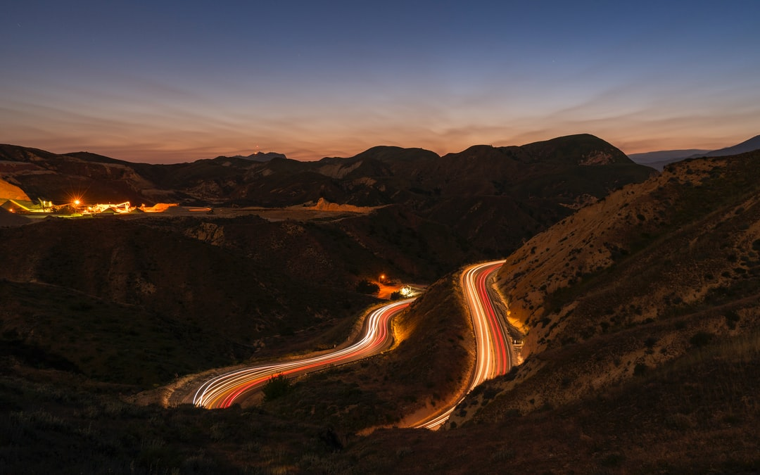 If the light trails are no indication, this section was made for fast cars.  From up above the winding road, all one can hear is the roaring engines of sports cars accelerating through this would be race track that's always open. On a busy night, the traffic flow is consistent, which makes for long great long exposure shots. I was so excited to get capture this shot.