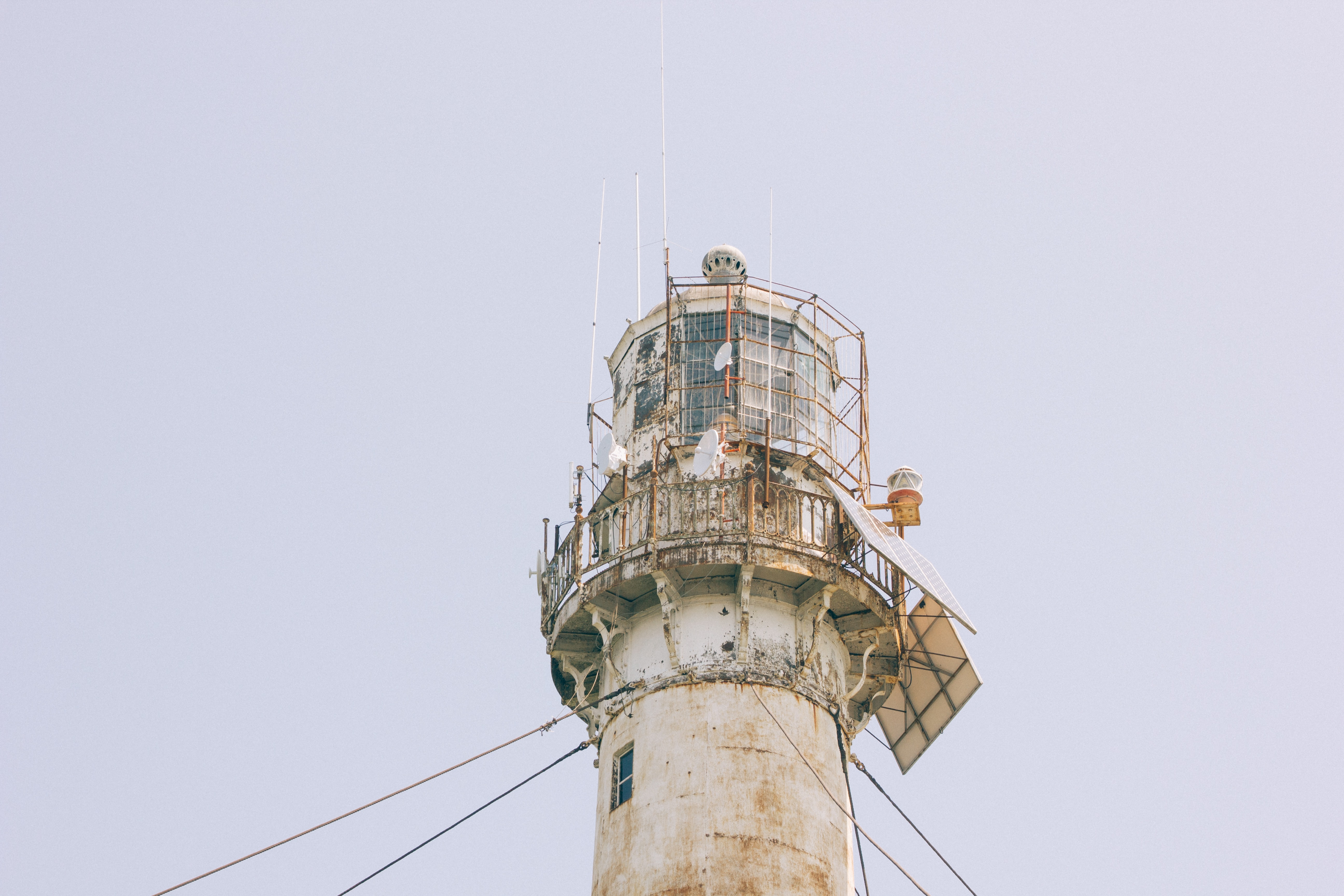 low angle photography of lighthouse