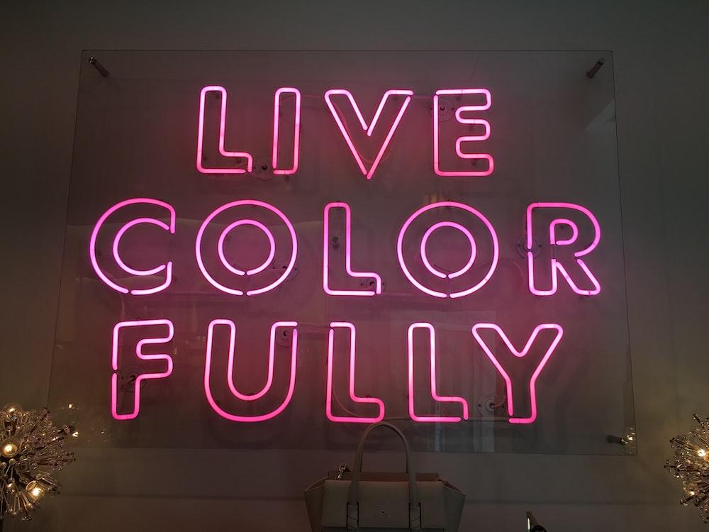 Live Color Fully LED signage