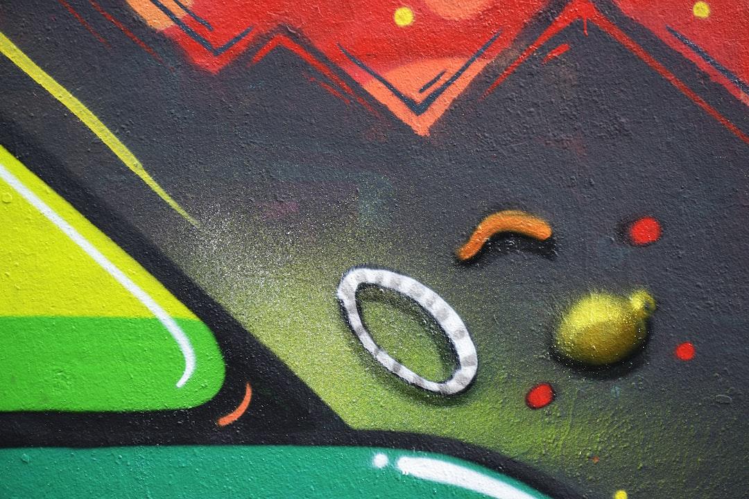 Detail of wall Street Art