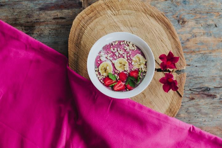 Vegan/Keto Smoothie Bowl